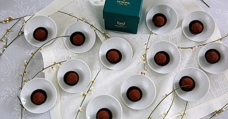 Truffle candy (12 pcs)